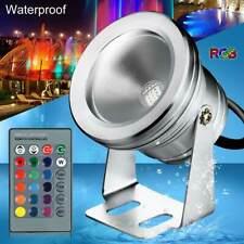 Waterproof LED Projector Lamp Spotlight 12V/85V-265V Warm White/ White/ RGB #ur