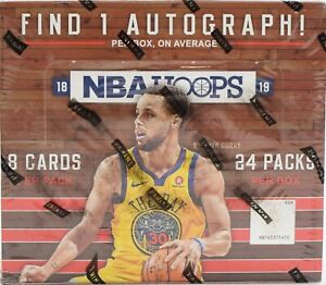 2018/19 Panini Hoops NBA Basketball card Box LUKA DONCIC ROOKIE CARDS? INVEST!!