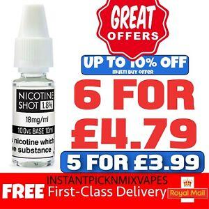 Nicotine Shots Nic Shots Nic 88 Vape E Liquid Vape Juice 10ml 18mg 15mg 100 VG