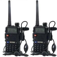 2 X Baofeng Uv-5R Dual Band Vhf/Uhf 136-174/400-480Mhz Transceiver Two-Way Radio