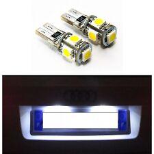 2 AMPOULES W5W LED ECLAIRAGE PLAQUE VEILLEUSE BLANC XENON CANBUS T10