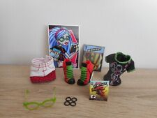 MONSTER HIGH VETEMENT / CLOTHES FROM GHOULIA YELPS SCHOOL CLUB DEAD FAST