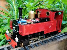 Live Steam Locomotive 0-4-0 Pearse 16mm G Scale
