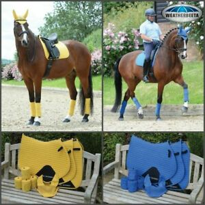 Weatherbeeta Prime GP Saddle Pad Cloth Matchy Matchy Fly Veil Boots and Bandages