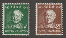 Ireland 1943 #126-27 Sir Rowan Hamilton - MNH