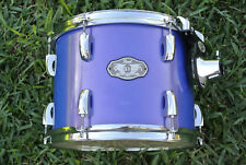 "PEARL VISION 12"" BLUE RACK TOM SST BIRCH PLY SHELL for YOUR DRUM SET! LOT #B168"