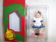 1998 Effanbee Doll Christmas Ornament #F036