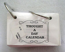 NEW THOUGHT A DAY CALENDAR  craft supply