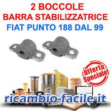 2 BOCCOLE LATERALI BARRA STABILIZZATRICE FIAT PUNTO 188 DAL 99 ADATT A 7750990