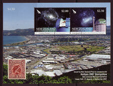 NEW ZEALAND 2007 HUTTPEX 2007 STAMP SHOW  MINIATURE SHEET  FINE USED