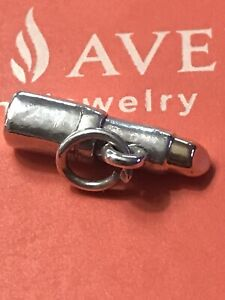 James Avery Retired Silver And 14kt Gold Lipstick Charm