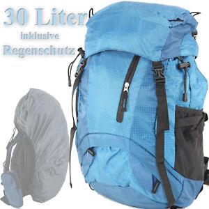 TAGESRUCKSACK 30 L Wanderrucksack Backpacker Trekking Lauf- Rucksack BLAU ü5ü639