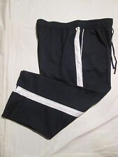 (*.*) SJB ACTIVE by ST. JOHNS BAY * Womens NAVY Athletic Capri Pants * Size L