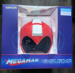 Mega Man SDCC 2016 Exclusive Limited Edition 1:1 Scale Wearable Red Helmet NEW!