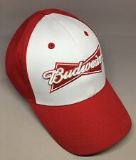 Budweiser Beer Trash Red White Hat Cap Costume Adjustable Captivating Headgear