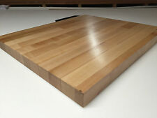 "25"" x 24"" x 1.5"" Maple Wood Butcher Block Counter top // Cutting Board"