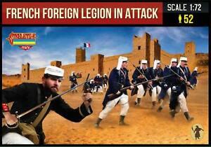 Strelets Mini 1/72 French Foreign Legion in Attack # M147