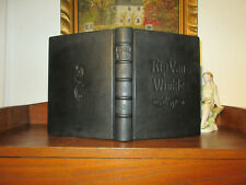 RIP VAN WINKLE Jugendstil Luxusausgabe 1905 ill.ARTHUR RACKHAM Leder HANDEINBAND