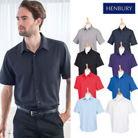 Premier Men/'s Signature Oxford Camicia A Maniche Lunghe PR234 Unisex Formale Work Wear
