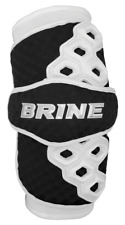 New Brine Triumph Ii (2) Lacrosse Arm Pads R&L Black Large Ventilator Chill