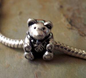 Bead Element Bärchen Teddy Farbe Antiksilber Silber 0635