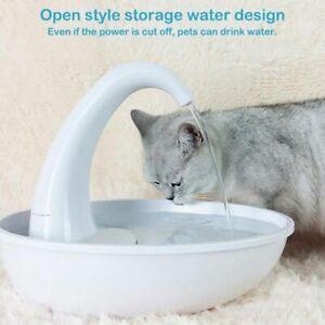 Pet Water Dispenser Cat Feeding Water Flowing Fountain Cat With Water Dispenser