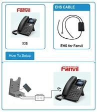 Fanvil EHS Headset Adapter für JABRA (Engage 65 / Engage 75) DECT Headset
