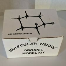 Molecule MODEL KIT Chemistry Molecular Visions 1996 A CHAIR CYCLOHEXANE Vintage