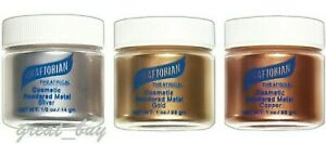 Graftobian Powdered Metal_ Cosmetic,Gold,Silver,Copper_ Theatrical Makeup Pick 1