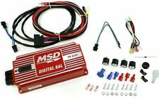 MSD Digital 6AL Ignition Control Box WITH Rev Limiter SBC BBC SBF Ford Chevy