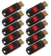 LOT 10 x SanDisk 16GB Cruzer EDGE USB Flash Pen Drive 16 GB SDCZ51-016G 10x 16 G