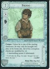 MIDDLE EARTH BLACK BORDER PREMIER RARE CARD FRODO, grade 9/10