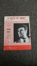 A Taste Of Honey Sheet Music By Acker Bilk