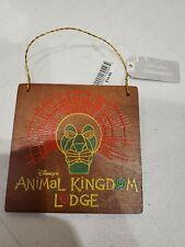 Disney Parks Animal Kingdom Lodge Hotel Christmas Ornament