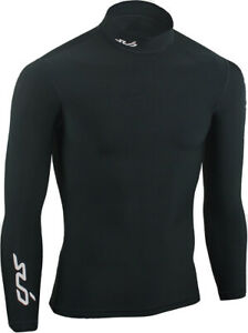 Sub Sports Cold Thermal Junior Long Sleeve Compression Top - Black
