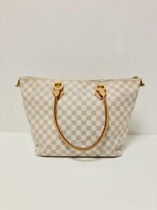 Louis Vuitton Azul Saleya MM N51185 Tote Bag Used from Japan