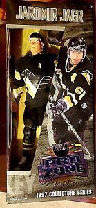 "JAROMIR JAGR NHL Pro Zone  12"" Vinyl Figure Doll.. Penguins Brand New In Package"