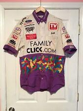 Kevin LaPage FamilyCLICK.com TV Guide Race Day Pit Crew Uniform Size XL Roush