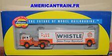 Semi-remorque Ford C Tractor w/Beverage Trailer HO Athearn