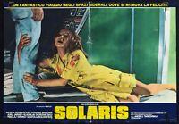 Fotobusta Solaris Tarkovsky Fantascienza Soljaris Andrei UFO Spazio 4 R126