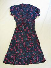 Marc by Marc Jacobs 'Anemone Print' Silk Dress Sz 4 Beautiful Celebrity Favorite
