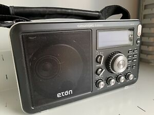 Eton Field BT Grundig Edition AM/FM Shortwave Radio With RDS And Bluetooth