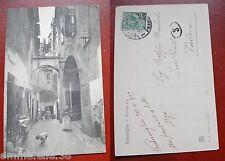 CARTOLINA VIAGGIATA 1917 - LIGURIA - IMPERIA - VENTIMIGLIA / VECCHIA VIA