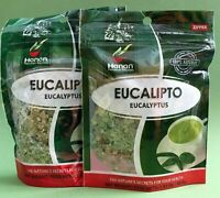 HANAN Eucalipto 40 grs. 100% Natural - 2 PACK. / Eucalyptus Herbal Tea 1.41 oz.