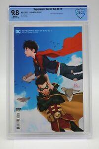 Superman Son Of Kal-El (2021) #1 Inhyuk Lee CBCS 9.8 Blue Label White Pages