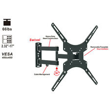 Full Motion TV Wall Mount Bracket for Sony Vizio 32 40 42 47 50 Inch LCD Display