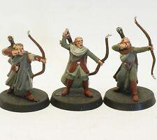 Elb 3 WALDELBEN mit Bogen  Herr der Ringe Games Workshop PLASTIK Hobbit