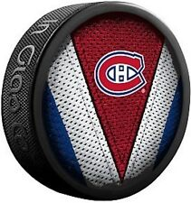 NEW MONTREAL CANADIENS STITCH JERSEY COLLECTIBLE HOCKEY PUCK