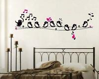 Singing Home Decor Removable Wall Stickers Decal Decoration Vinyl Mural