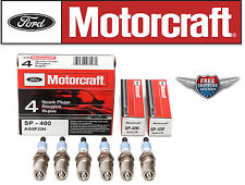 6 Motorcraft Spark Plug SP400 with Dielectric Grease & Anti-Size Lubricant